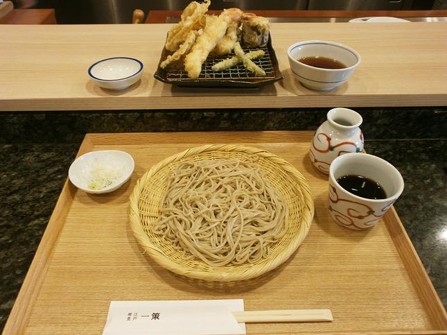 本格そばと上質なひとときを楽しめる江戸蕎麦「一策」