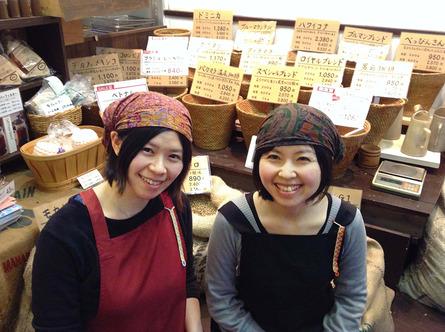 豆と焙煎にこだわる「コーヒー工房BEANS」の清水姉妹