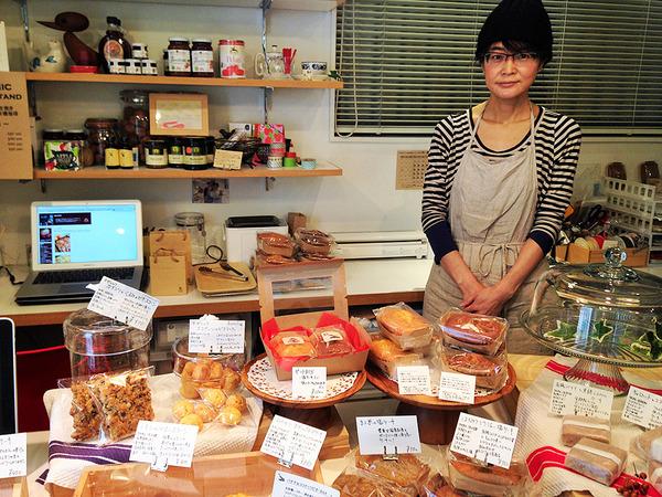 焼き菓子のACOT 店長 樋口礼子さんの画像