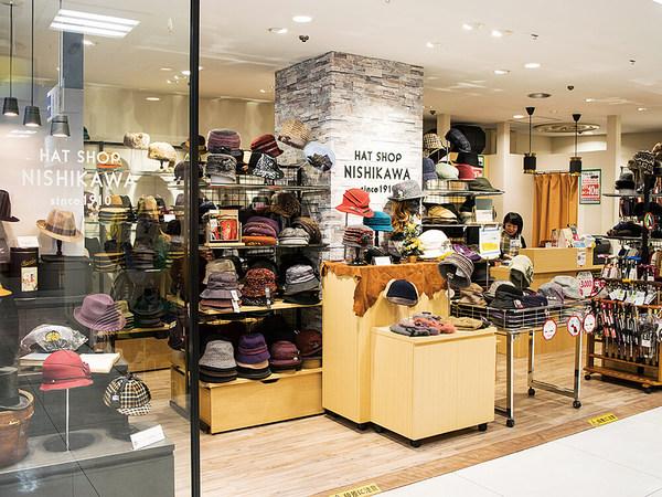 創業105年の帽子専門店が藤沢OPAにやってきた!の画像