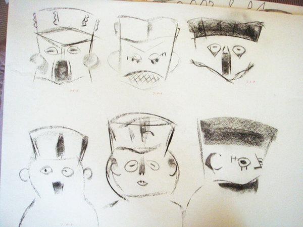 森節子プレインカの壺デッサン展の画像