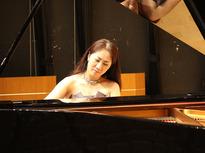 町田出身のピアニスト水野沙織さん