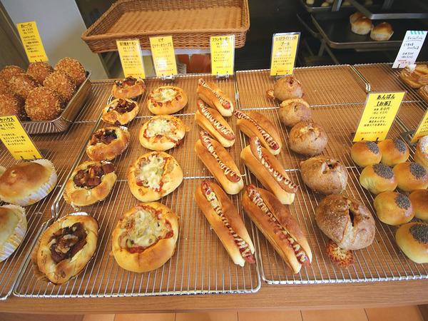 町のパン屋さんに通える喜び、楽しみの画像