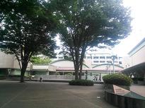 自然豊かな砧公園の一角にある世田谷美術館