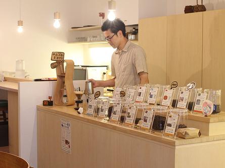 自家焙煎コーヒー豆の専門店
