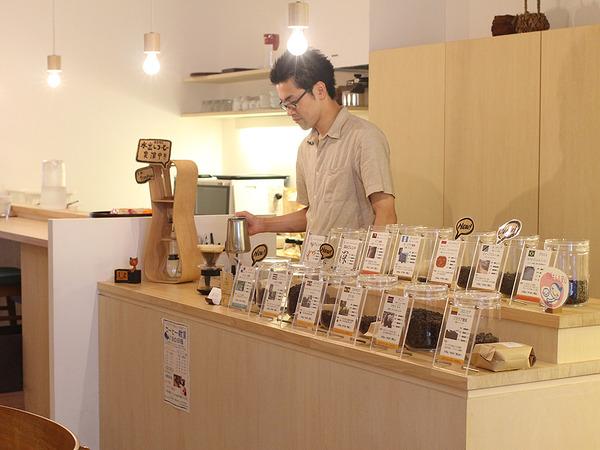 自家焙煎コーヒー豆の専門店の画像