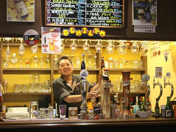 生樽ビールと約40種のボトルビールを堪能の画像