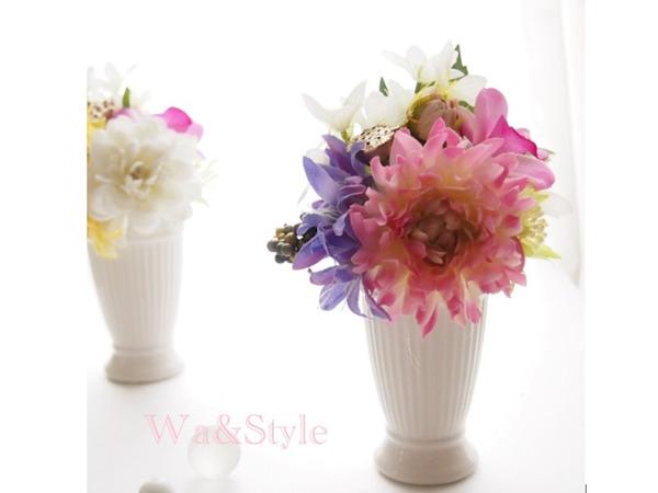 大切な方を想って...お供え花アレンジメント教室の画像