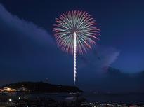 湘南の夏の夜空を納涼花火が彩ります!の画像