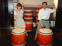 健康だけでなく癒やし効果ある伝統的な音楽の和太鼓教室