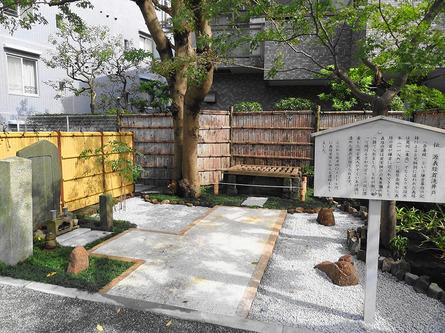 藤沢本町駅そば、知る人ぞ知る 源義経ゆかりの地
