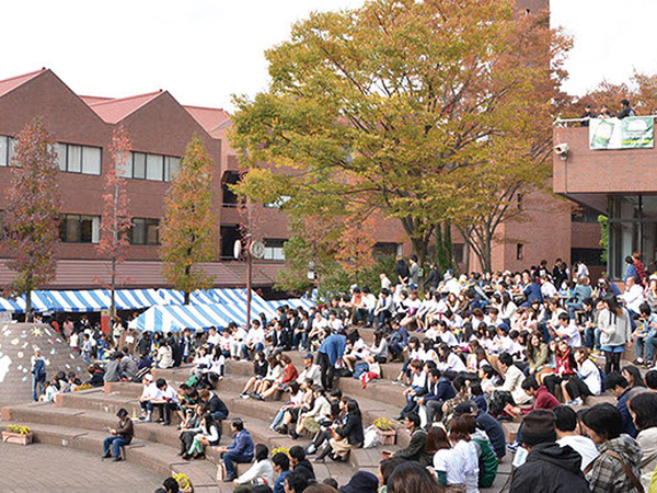学校の特色を活かした文教大学の学園祭 開催!の画像