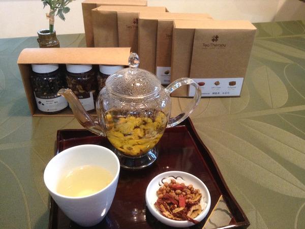韓国茶のティーセラピーの画像
