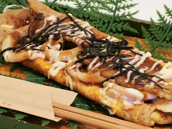 大阪名物あつあつの「いか焼き」が食べられる!の画像