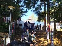 初詣 白鳥神社