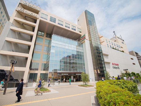 新百合ヶ丘を代表する商業施設の画像