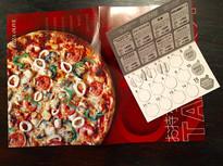相模大野駅構内のピザ屋さん