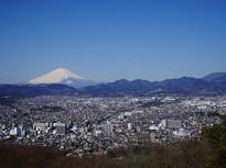 弘法山公園からの絶景