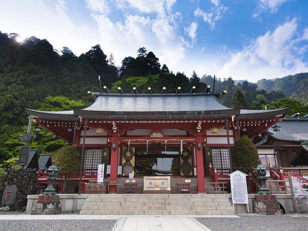 大山阿夫利神社詣での画像