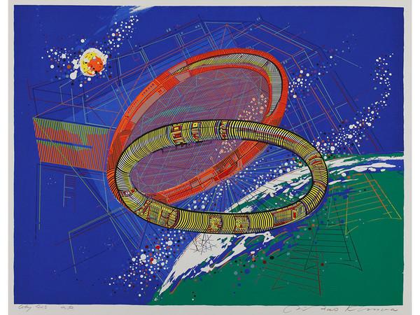 国際版画美術館で4月9日まで木村利三郎展の画像