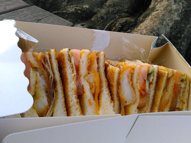 メニューは50種類! 老舗サンドイッチ専門店