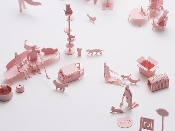 1/100のミニチュア模型の画像