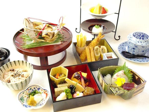 祝い事にも好適なホテルの和食どころの画像