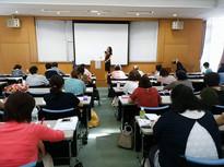 玉川大学で若者に日本の伝承文化の大切さを伝える