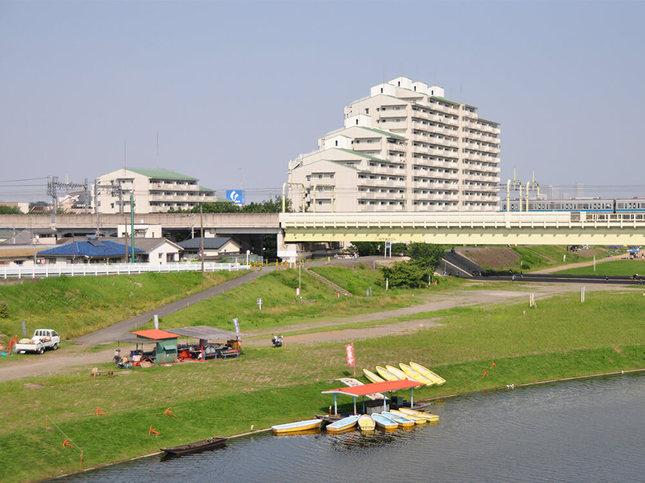 多摩川でボートを楽しもう