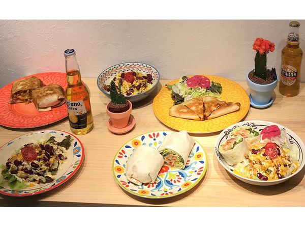 タコスやサラダラップで気軽にテックスメックス料理の画像