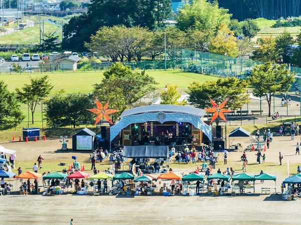 音楽・自然・食を楽しむ野外フェス「丹沢謌山2017」の画像