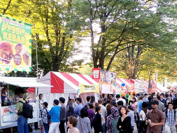 食の秋、東京ベジフードフェスタでベジタリアン体験の画像