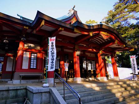 初詣に行こう!相撲にご縁がある神社