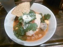 温かいスープごはんでしっかり朝食