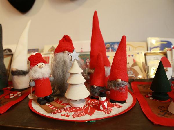 北欧madeのクリスマスの雑貨、揃ってます♪