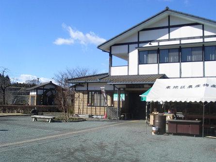 「伝承館」で伝統のキノコ蕎麦