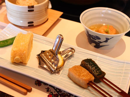 町田の由布院で非日常的な食事を。