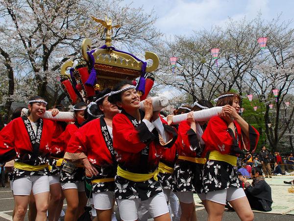 今年も盛大に開催されます!「あつぎ飯山桜まつり」の画像