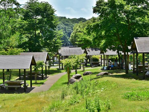 秦野戸川公園で手ぶらでバーベキュー!の画像