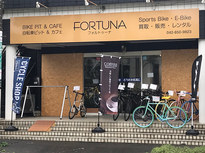 自転車好き集まれ!バイクスタンドやカフェも併設