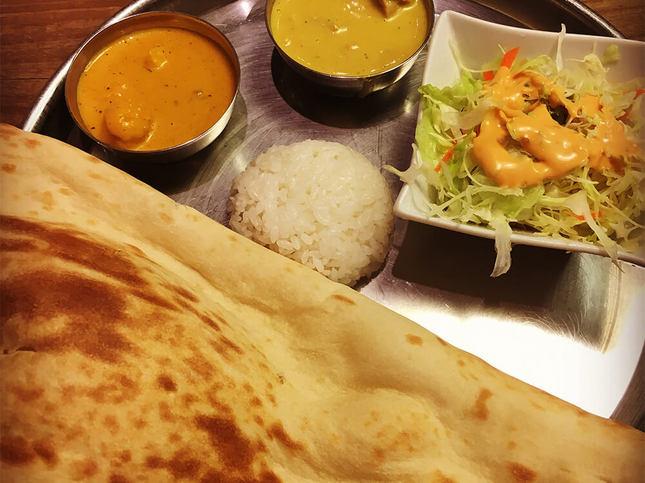 メニュー豊富なインド料理