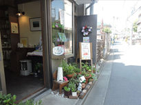 コーヒーとハーブティーの喫茶店