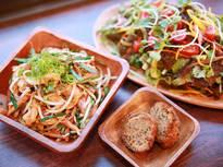 藤沢野菜と沖縄料理のコラボレーション!