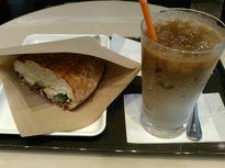 ホットサンドがおいしいカフェ