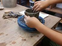 子供も大人も楽しめるとても感じの良い陶芸教室