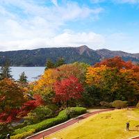 庭園で紅葉を楽しめるホテル