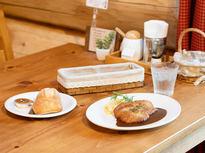仙石原の自然を感じる、ログハウスレストラン
