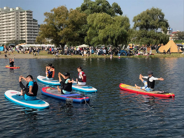 多摩川の水辺フェス、今年はキャンプも釣りも!の画像