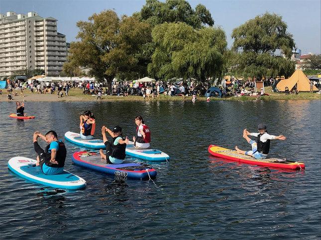多摩川の水辺フェス、今年はキャンプも釣りも!
