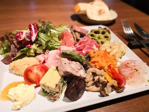 こだわりの日本食材をナチュラルイタリアンで楽しむ!